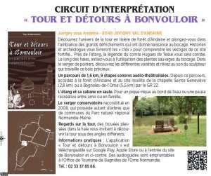 circuit interprétation juvigny